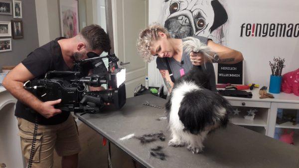 TV Hundefriseurin Franziska Knabenreich-Kratz